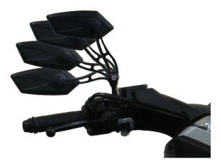 12319:フリージョイントミラー アダプター付 ブラック