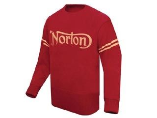 14210:NORTON SLEEVE JUMPER(レッド)