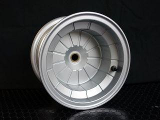 16021:4スト用8インチ5Jブレーキドラム一体型チューブレスアルミホイール