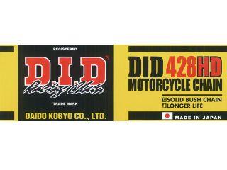 121890:モーターサイクルチェーン スタンダードシリーズ 428HD(スチールカラー)