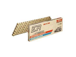 121932:モーターサイクルチェーン レース用 ERシリーズ G&G レース用(ゴールド) カシメジョイントタイプ