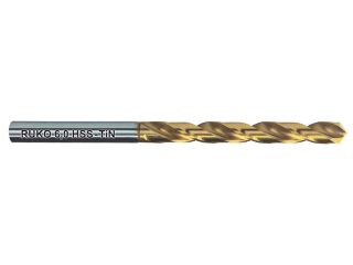 123973:250102T TiNコート ストレートシャンクドリル HSS 10.2mm