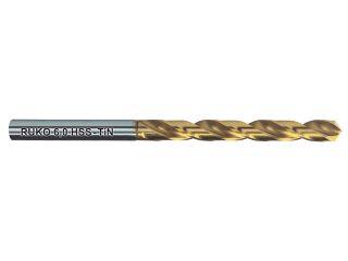 123974:250105T TiNコート ストレートシャンクドリル HSS 10.5mm