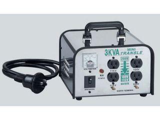 125317:LV-03CS ミニトランスル(3.0KVA降圧専用)