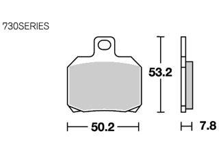 126979:ブレーキパッド 730RQ レーシング(カーボン)
