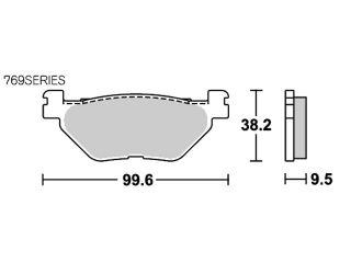 127005:ブレーキパッド 769LS ストリートエクセル(シンター)