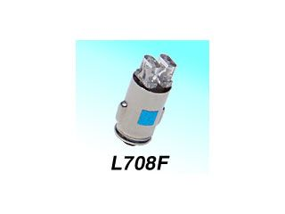129101:L708F ピン式口金タイプ 12V0.25W
