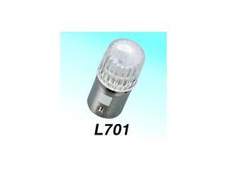 129105:L701 ピン式口金 BA9S型 6V0.13W