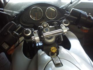 133017:BMW R1100S ナビゲーションステー(アップハンドル変換機能付き)