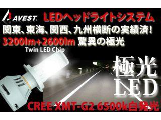 133447:ホンダバイク汎用 CREE H4ハイローHIDではないLEDライトバルブ