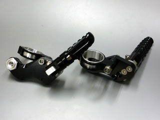 134847:タンデムステップ ショック径41mm用(ブラック)