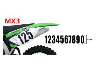 135876:スタンダードナンバーズ MX3 ブラック