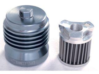 151414:PCS1 FLOオイルフィルター(フィルター交換タイプ) ガンメタルグレー