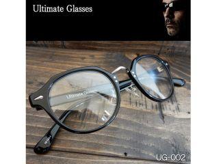 156566:Ultimate-UG-002 Ultimate アルティメット サングラス(レンズ:クリア、フレーム:ブラック)