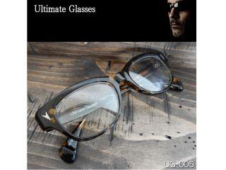 156569:Ultimate-UG-005 Ultimate アルティメット サングラス(レンズ:クリア、フレーム:ブラウンハバナ)