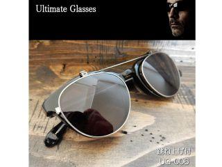156570:Ultimate-UG-006 Ultimate アルティメット サングラス(レンズ:スモーク/クリア、フレーム:ブラック)