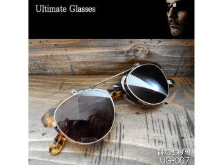 156571:Ultimate-UG-007 Ultimate アルティメット サングラス(レンズ:スモーク/クリア、フレーム:ブラウンハバナ)