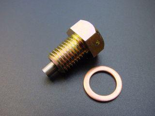 157951:Z400FX 磁石付ドレンボルトセット(銅ワッシャー付)