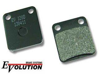 163968:エボリューション セミメタルブレーキパッド EV-120D
