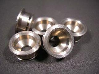 166210:アルミフローティングピン 16.25mm チタン