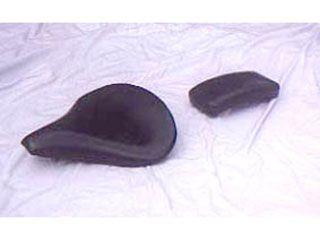 168843:サドルシートキット Mサイズ 薄型 黒レザー