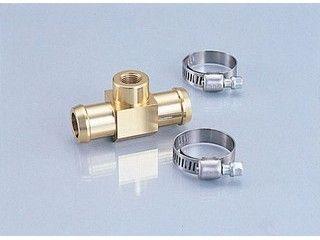 169642:水温計アタッチメント ホース内径φ18用(ゴールド)