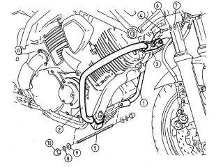 170314:エンジンガード(クローム)