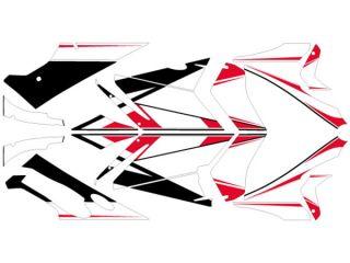 175261:749S/999S グラフィックキット ベースモデル レッドタイプ