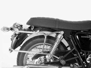 177846:サイドケースホルダー(キャリア)クローム Triumph Bonneville/T 100