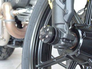 177889:フロントフォークスライダー X-Pad(エックスパッド) Ducati Scrambler(ブラック)