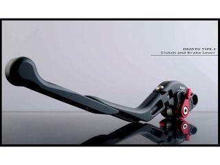 180360:ブレーキ・クラッチレバーSET/Type3 マットVer/DUCATI