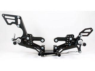 180707:KTM RC8/RC8R(09-15)用レーシングステップKIT(ブラック)