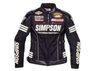 181083:2017春夏モデル SJ-7115L SIMPSON Ladies Line Mesh Jacket