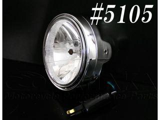 183422:【在庫限り】汎用 マルチリフレクターヘッドライト メッキ φ200mm