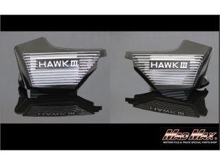 190495:ホンダ HAWKIII CB250N スーパーホーク アルフィンカバー ブラック ホーク3