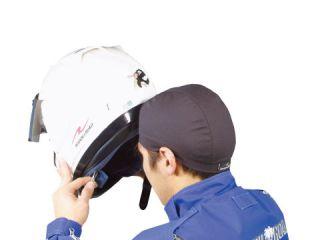 191262:RR7604 ヘルメットアンダーキャップ(ブラック) 2枚組