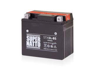 195177:STX5L-BS(密閉型)【特典:使用済みバッテリー無料回収チケット、車両ケーブル】