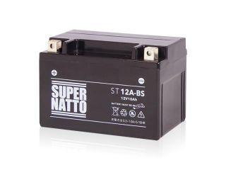 195195:ST12A-BS(シールド型)【特典:使用済みバッテリー無料回収チケット、車両ケーブル】