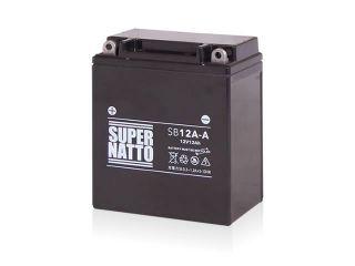 195206:SB12A-A(シールド型)【特典:使用済みバッテリー無料回収チケット、車両ケーブル】