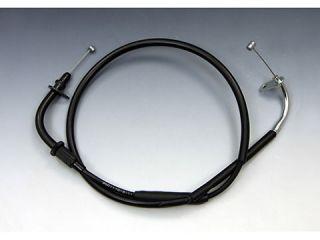 195713:ブラック アクセルワイヤー 25cmロング