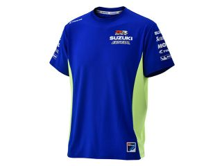197445:SZU001 MOTO-GP TAICHI Tシャツ(ブルー)