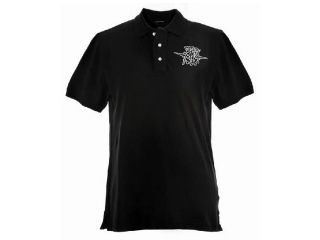 37782:INSTITUTIONAL POLO(BLACK)