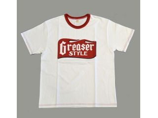 37794:SHORT SLEEVE T-SHIRT 『GREASER STYLE』