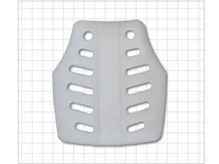 38365:胸部パッド 小(ホワイト)