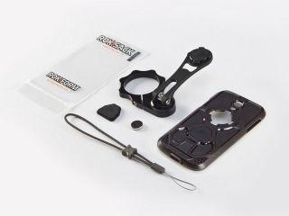 38596:バイクマウント V.3 バークランプタイプ ブラック(Galaxy S4 V.3ケース付属)