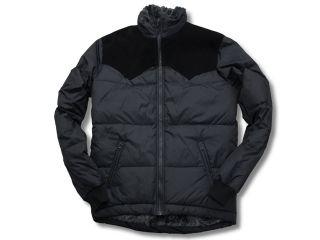 41084:2014-2015秋冬モデル REAL SUEDE LEATHER YOKE DOWN JKT(ブラック)