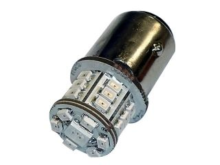 44451:LEDバルブ B11LED S25ダブル ピン角180(レッド)