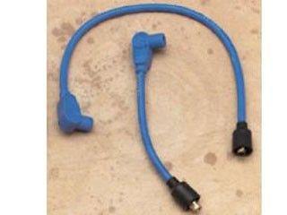 44506:8ミリ カスタムカラー プラグワイヤー(ブルー )