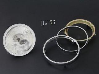 44608:ヘッドランプ コンベックスシリーズ 旧カワサキ系 リム付