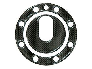46068:カーボンタンクキャップカバー Buell 8穴用(Key無)